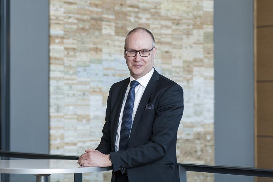 Journalistinen johtaja Pekka Mervola